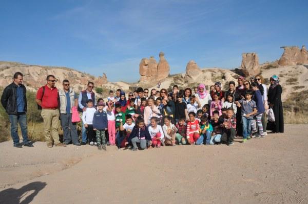 İlkokul Öğrencileri Kapadokya