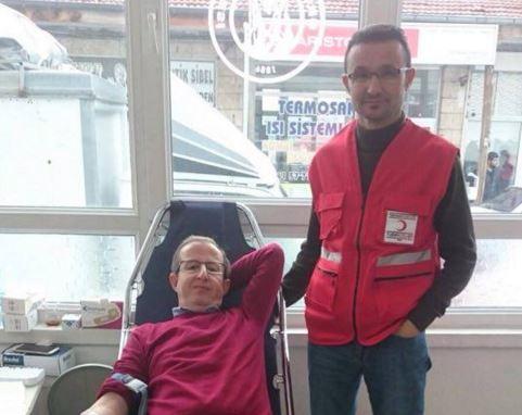 CHP İlçe Teşkilatından Kan ve Kök hücre Bağışına