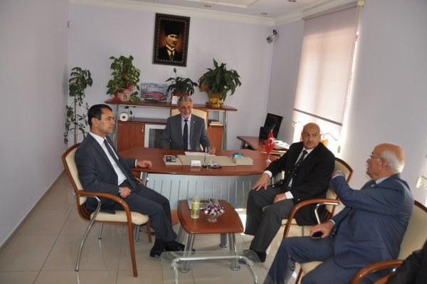 Nevşehir Valisi İlhami Aktaş Ürgüp Esnaf Sanatkarlar Odasını Ziyaret