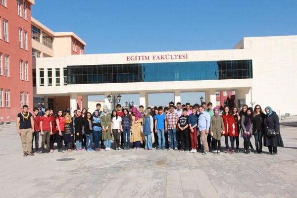 Lise Öğrencilerinden Ömer Halisdemir Üniversitesine