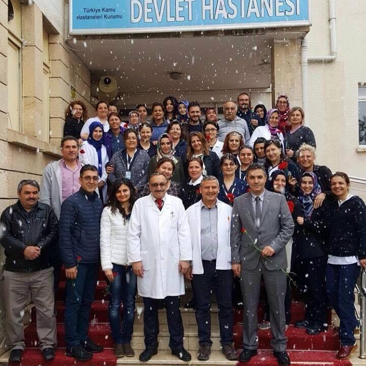 Ürgüp Devlet Hastanesi 14 Mart Tıp Bayramını