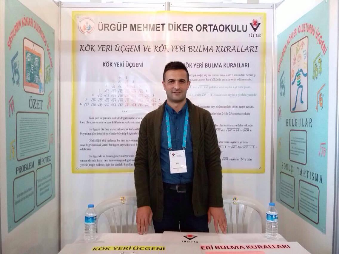 Mehmet Diker Ortaokulunun TÜBİTAK