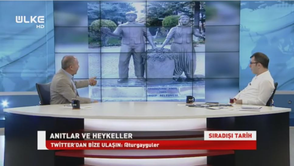 Ürgüpteki Bağbozumu Anıtı ÜLKE TV Gündemine