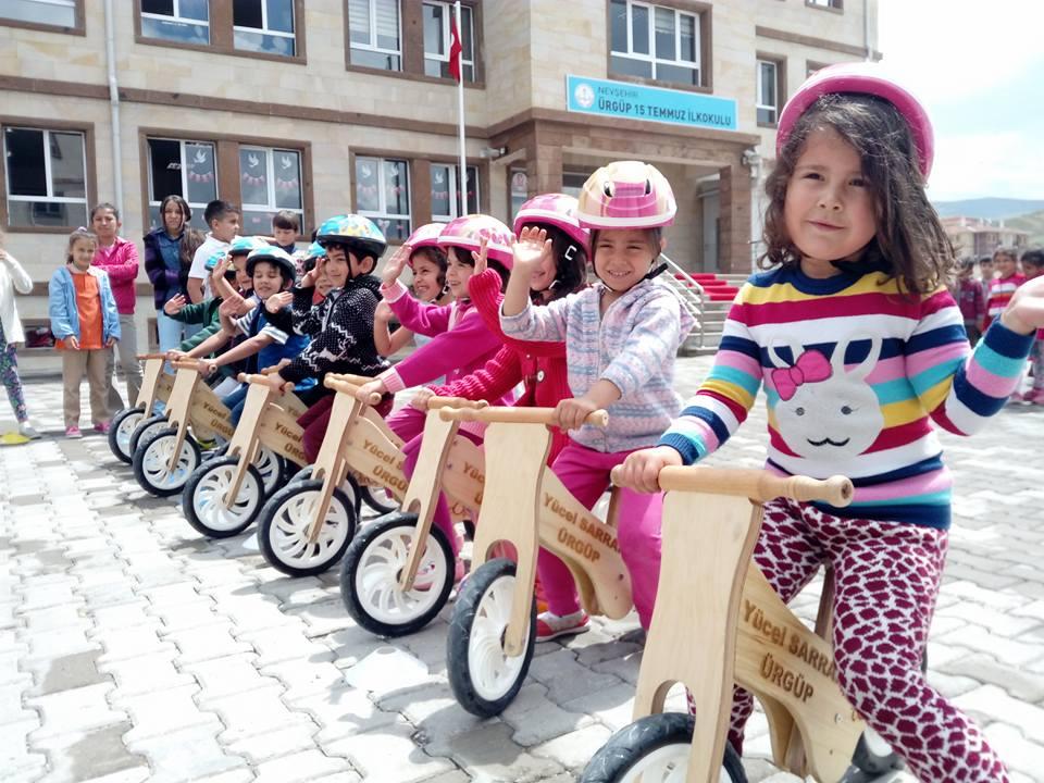 Bisiklette İlk Adım Etkinliğinde bisiklet