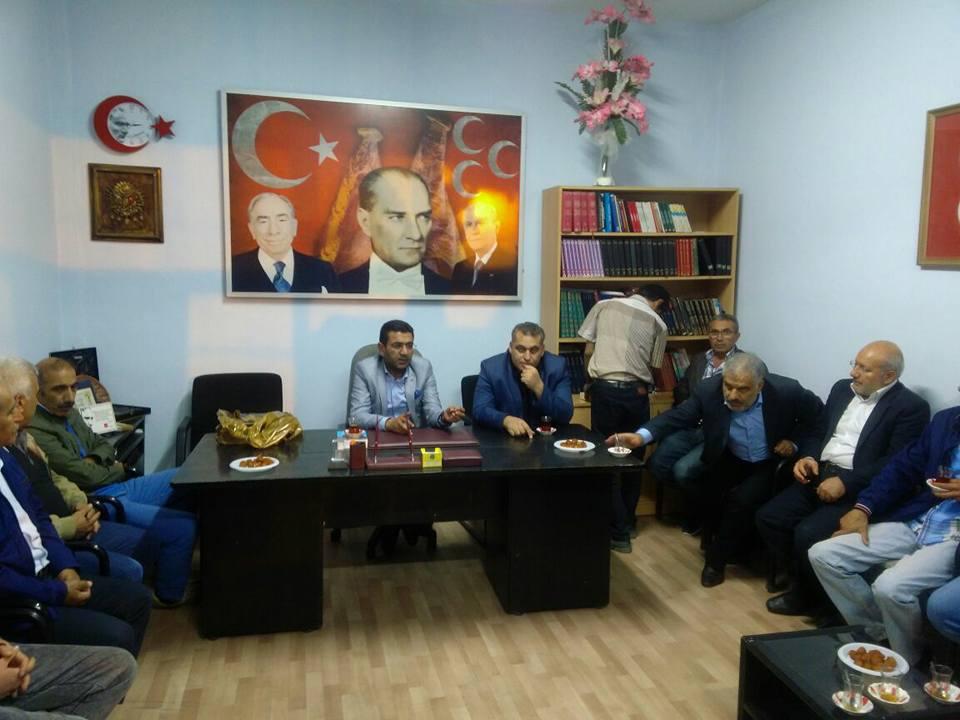 MHP İl Yönetiminden Ürgüpte istişare