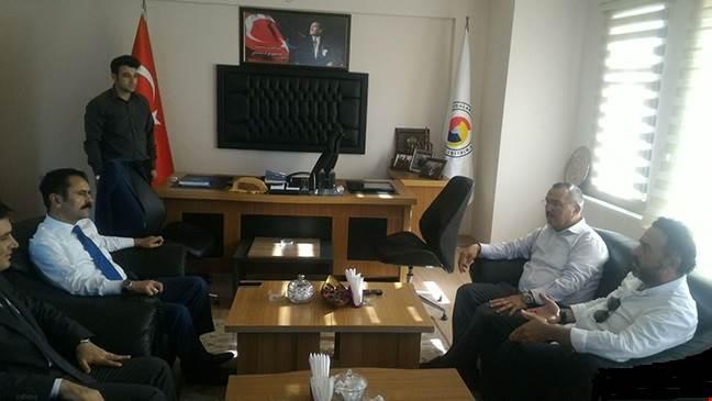 Nevşehir Valisi İlhami Aktaştan Ürgüp Ticaret Odasına