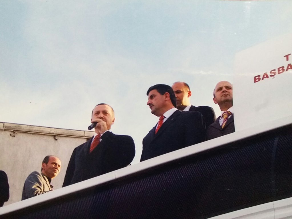 Akpartinin Yeni İlçe Başkanı Ali Özer