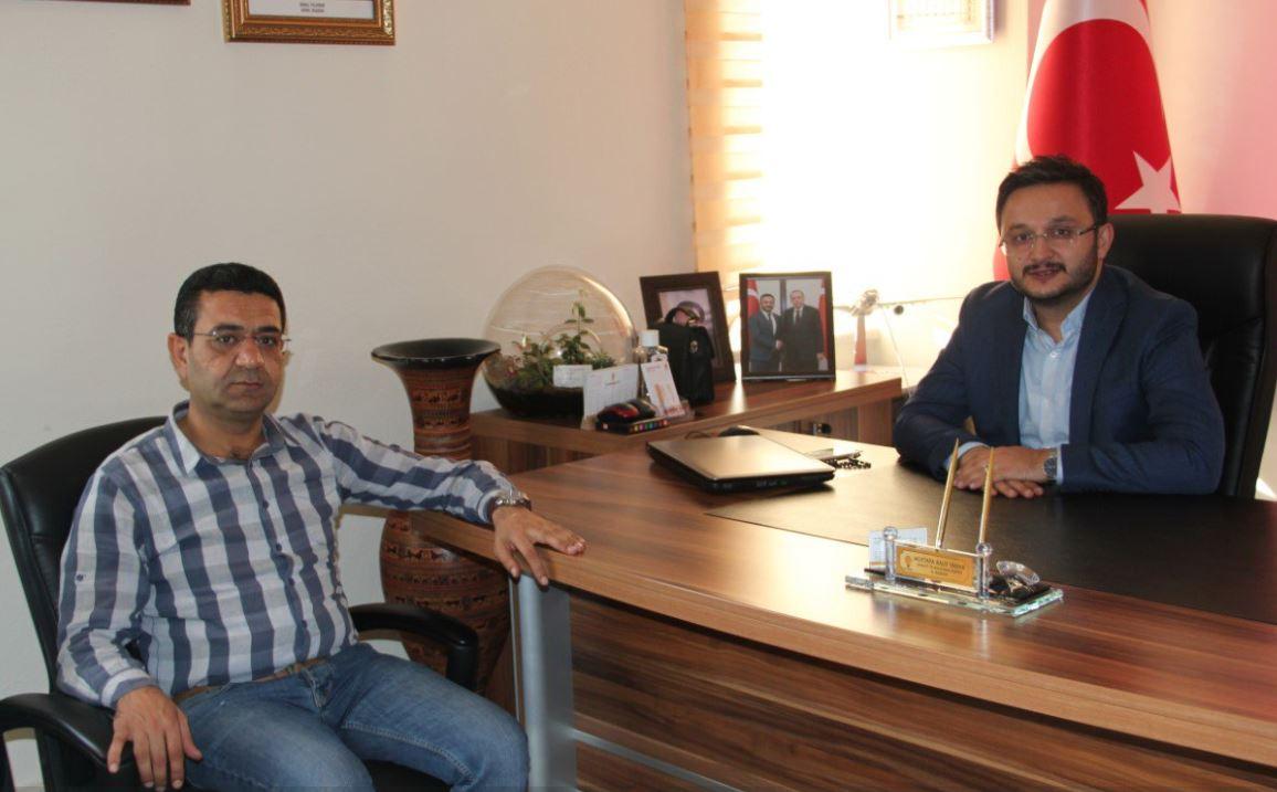 MHP İlçe Başkanı Mustafa Özden Ak Parti İl Başkanına