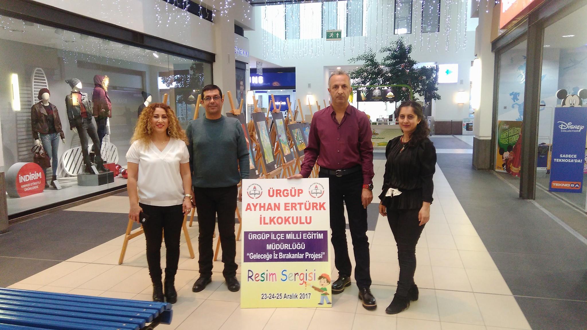 Ayhan Ertürk İlkokulu Kapadokya Forumda Sergi Açtı