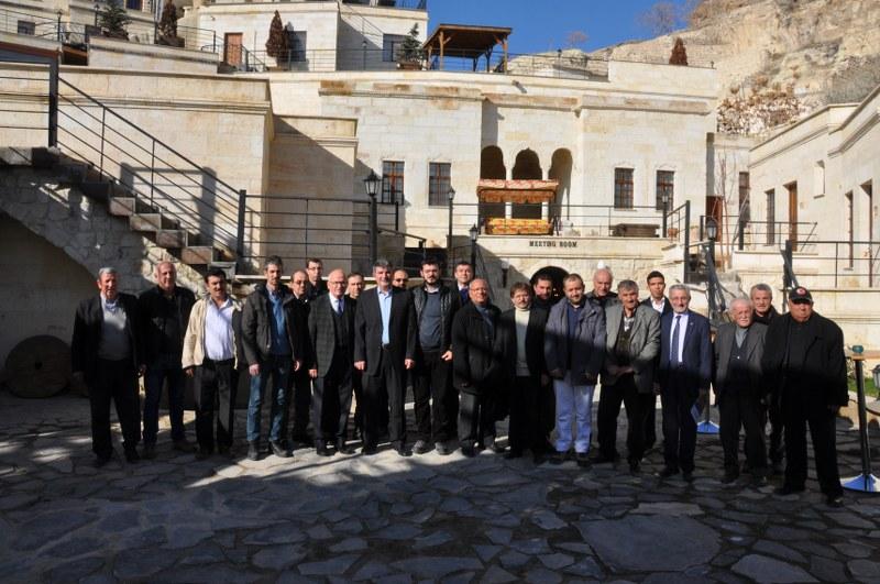 Ürgüpte Yerel Buluşmalar Muhtarlar Toplantısı