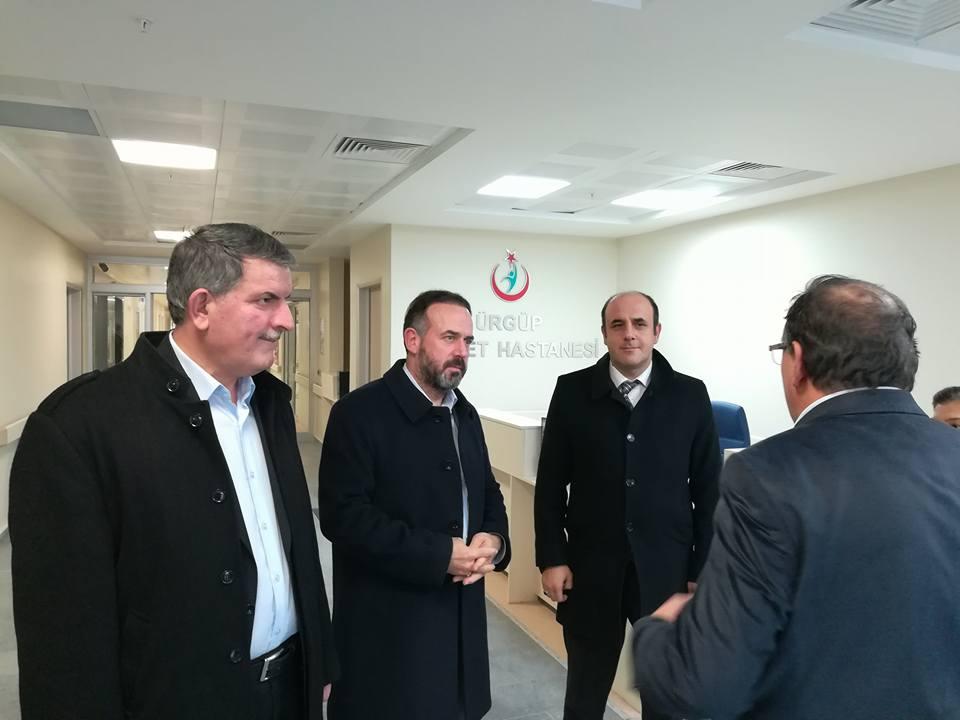 Milletvekili Göktürk Başkan Özer ile Yeni Hastaneyi