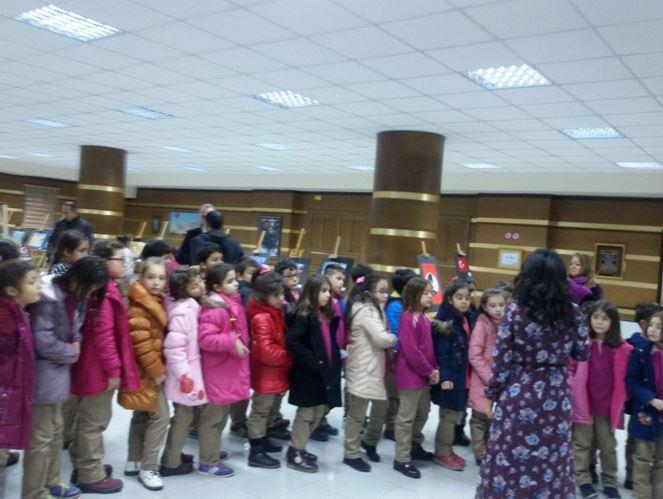 Ayhan Ertürk İlkokulu Saygı konusunu