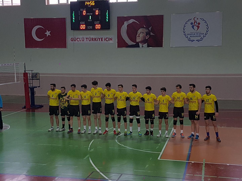 Ürgüp Spor Voleybol Erciyes ile Oynayacak