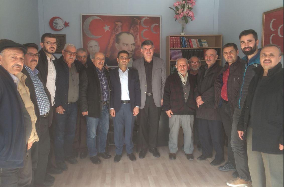 Ak Parti İlçe Teşkilatından MHP İlçe Teşkilatına Ziyaret