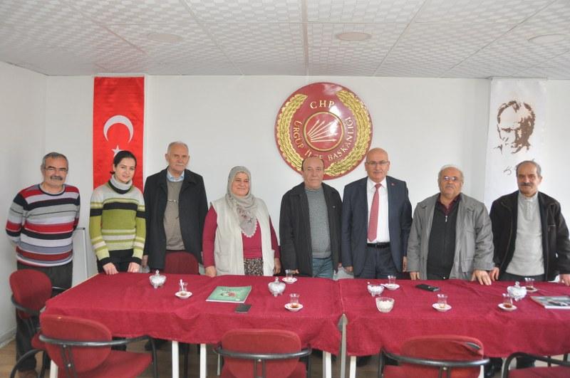 Başkan Yıldız CHP İlçe Teşkilatını Ziyaret Etti
