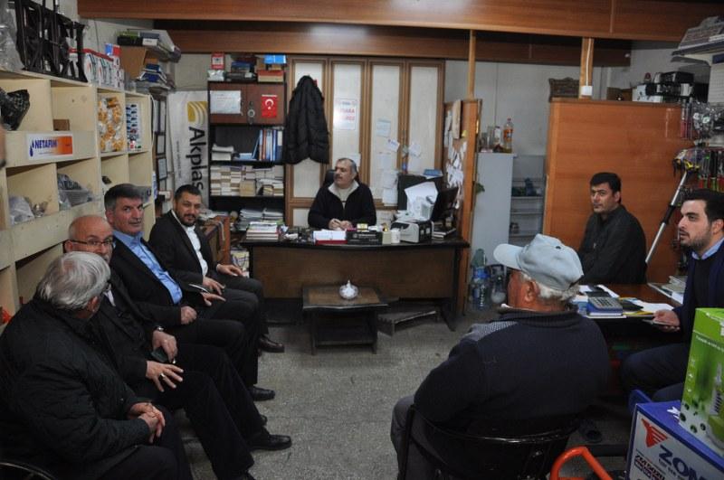 Milletvekili Açıkgöz Ürgüp'te Esnaf Ziyareti Yaptı