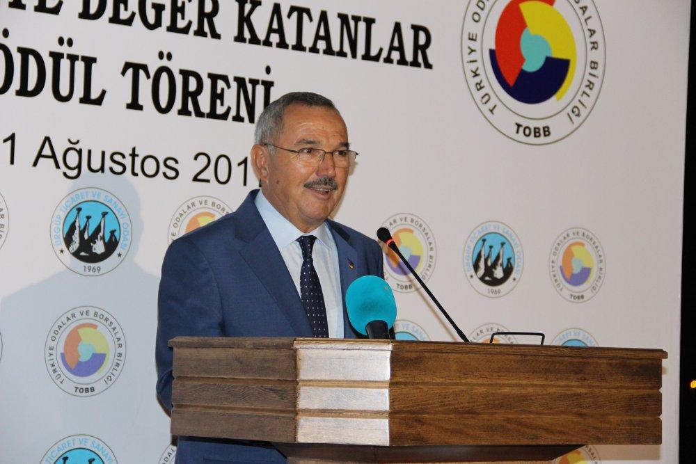 Türkiye Odalar ve Borsalar Birliğinden Ürgüp'e
