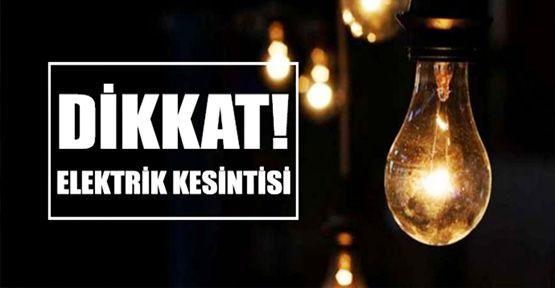 Mustafapaşa'da Planlı Elektrik kesintisi
