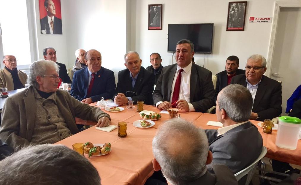 Ürgüp'te CHP Danışma Meclisi Toplantısı Yapıldı