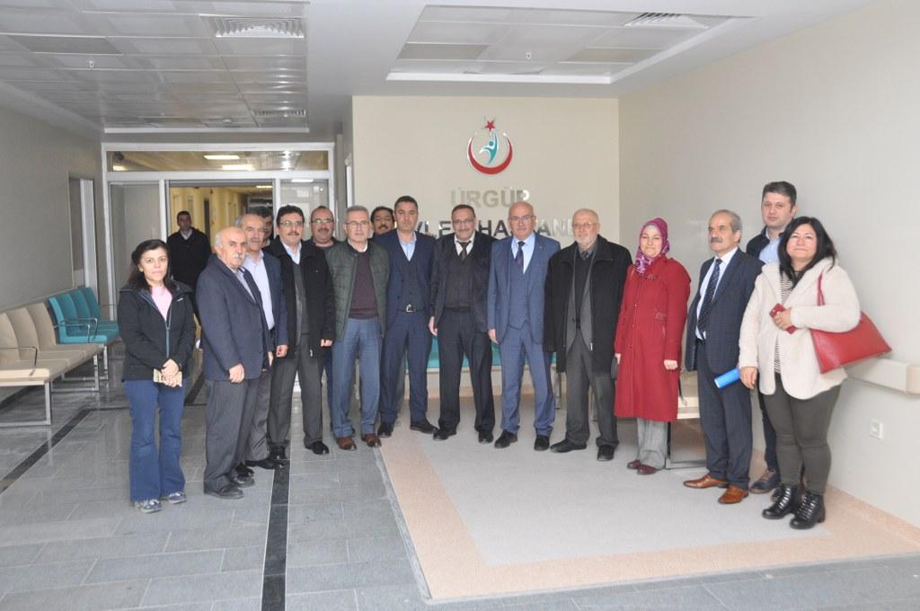 Belediye Meclis Üyeleri Devlet Hastanesini Gezdi
