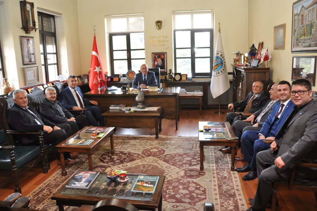 İYİ Parti'den Başkan Yıldız'a Ziyaret