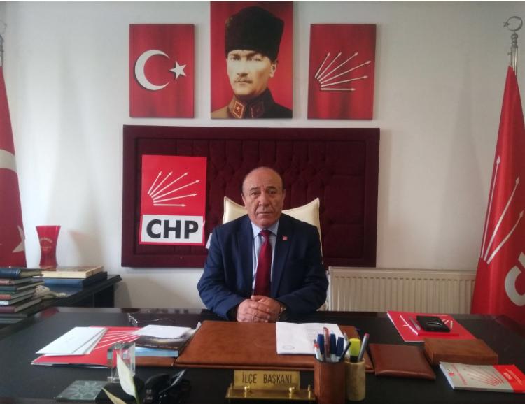 CHP İlçe Başkanından Taziye Mesajı