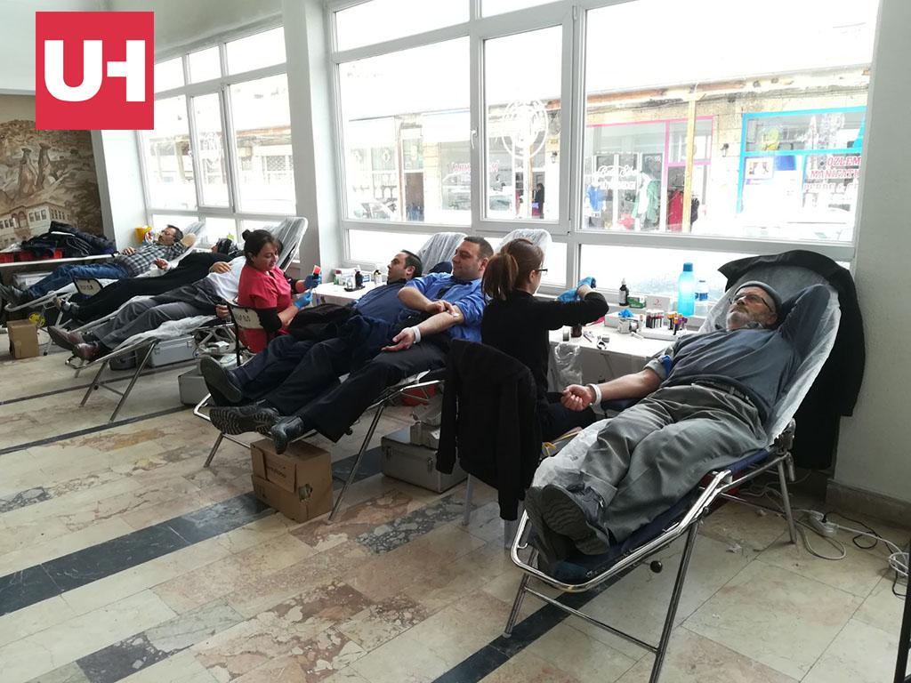 Kızılay Kan Bağış Kampanyası Başlattı