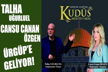 Ürgüpte Kudüs Konulu