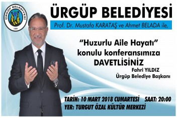 Prof. Dr. Mustafa Karataş Ürgüpe