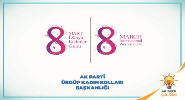 Ak Parti Kadınlar Günü Programı