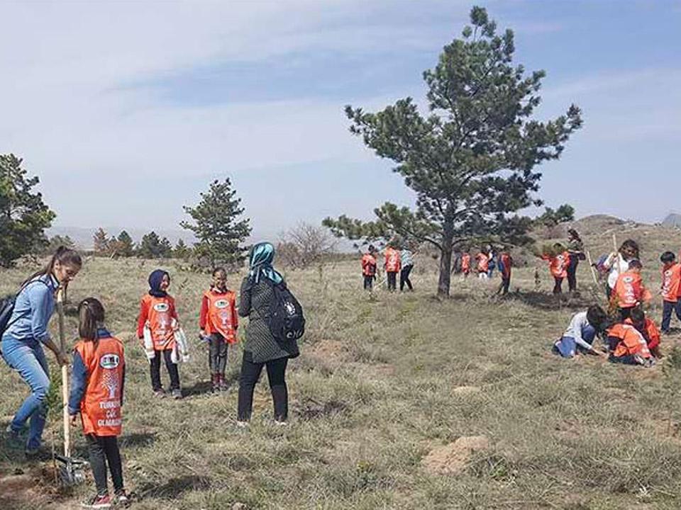Kapadokya Üniversitesi Orman Haftası Etkinliği düzenledi
