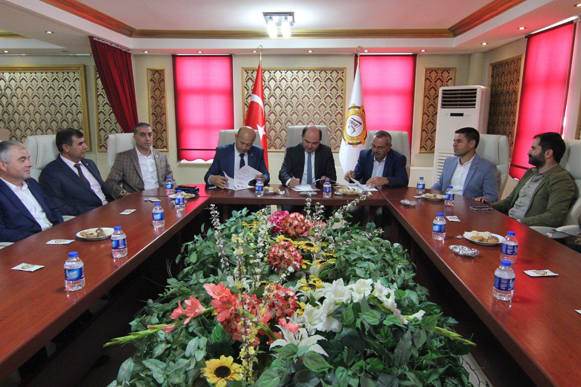 Ürgüp Ticaret Odası Safranbolu ve Beypazarı arasında protokol