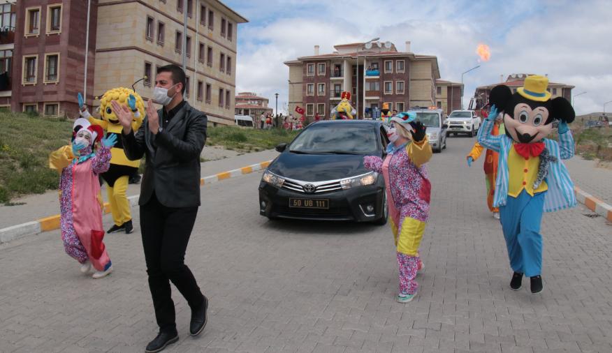 Ürgüp'te sokaklarda bayram coşkusu yaşandı