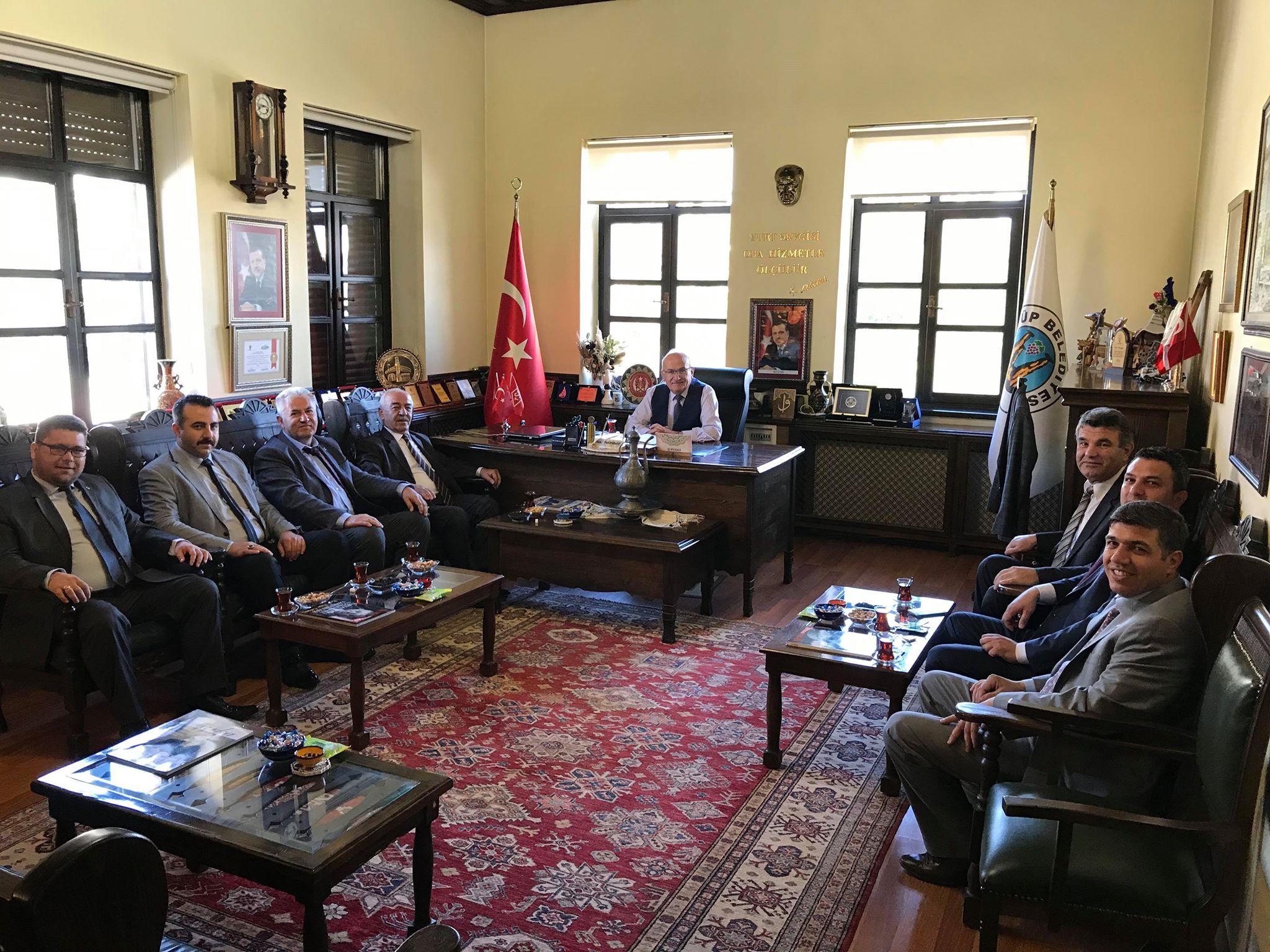İYİ Parti'den Başkan Yıldız'a Teşekkür Ziyareti