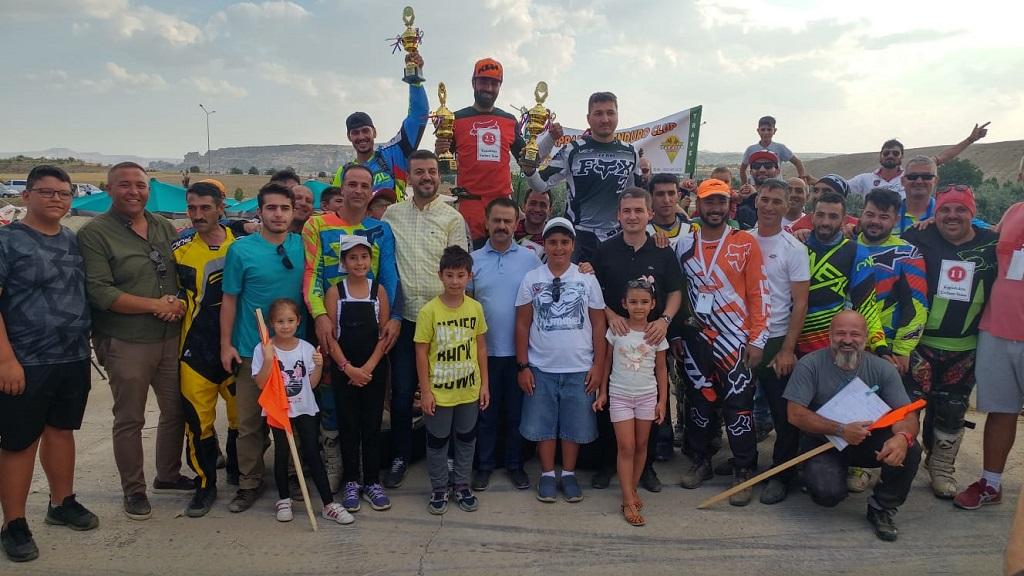 Kapadokya Enduro Şampiyonası Ürgüp'te Yapıldı