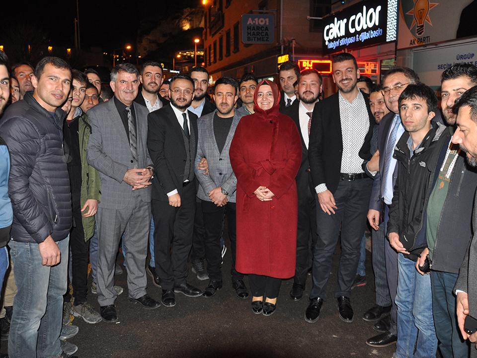 AK Parti Genel Başkan Yardımcısı Kaya Ürgüp'te