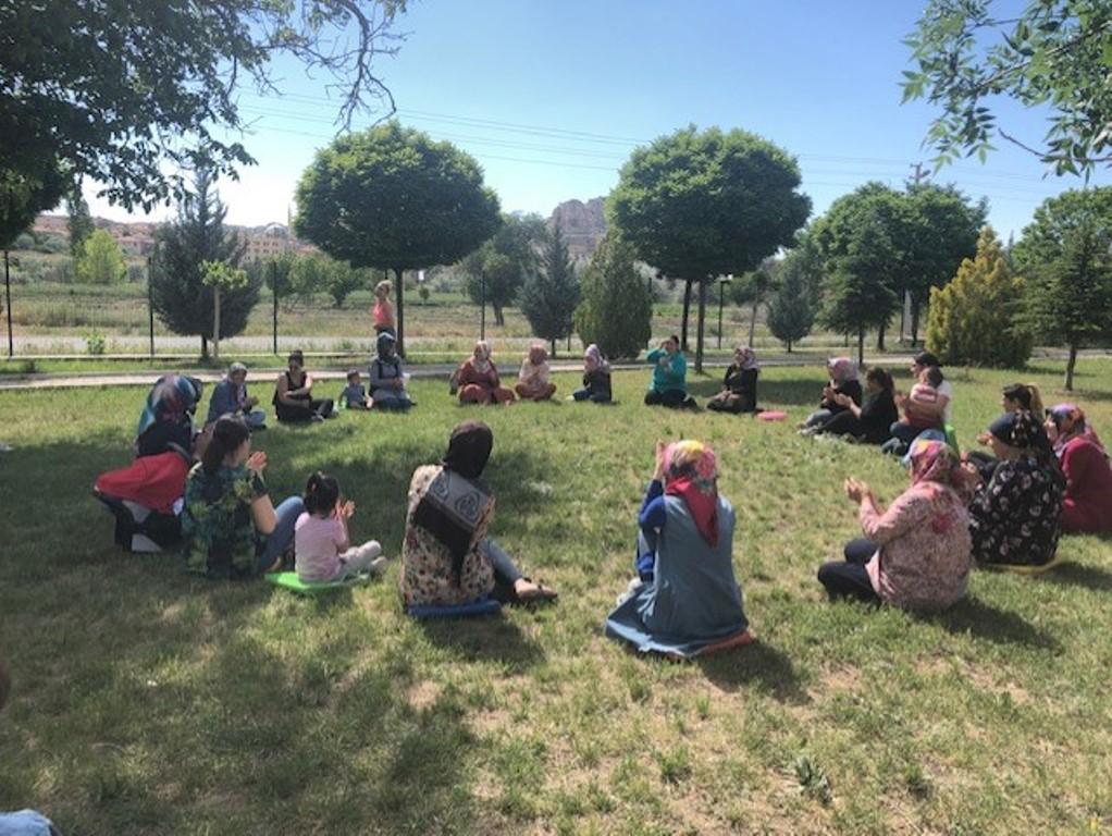 Veliler ve Öğrenciler beraber oyun oynadı