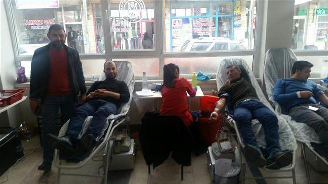 İYİ Parti İlçe Teşkilatından Kan Bağışı