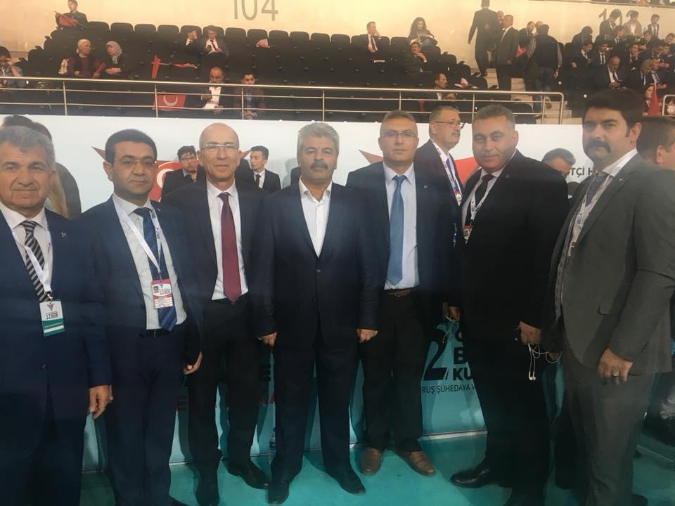 MHP İlçe Başkanı Öz, Kurultaya katıldı