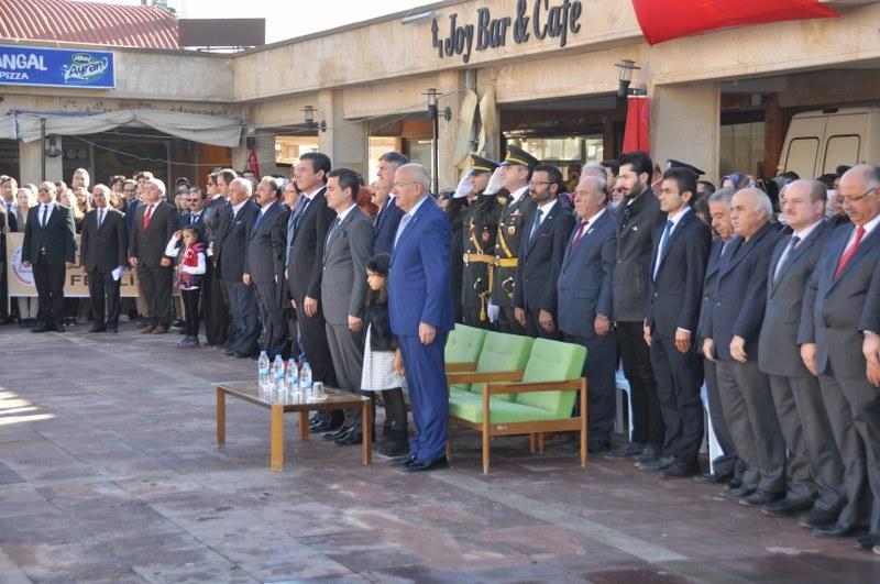 Ürgüp'te 29 Ekim Cumhuriyet Bayramı coşkuyla kutlandı