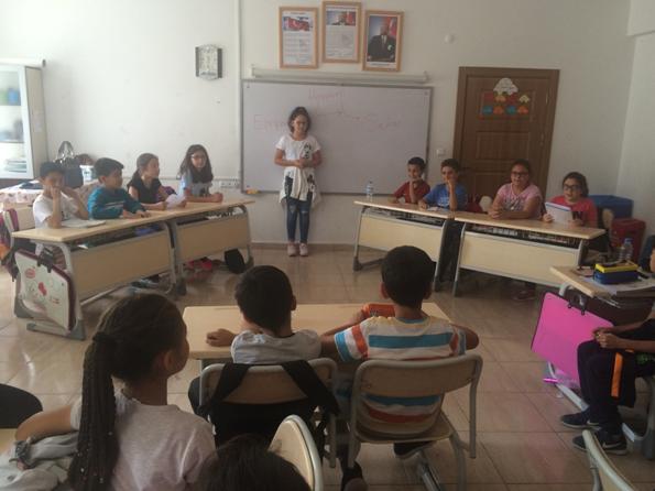 Ayhan Ertürk İlkokulu Değerler Eğitiminde Hoşgörüyü işledi