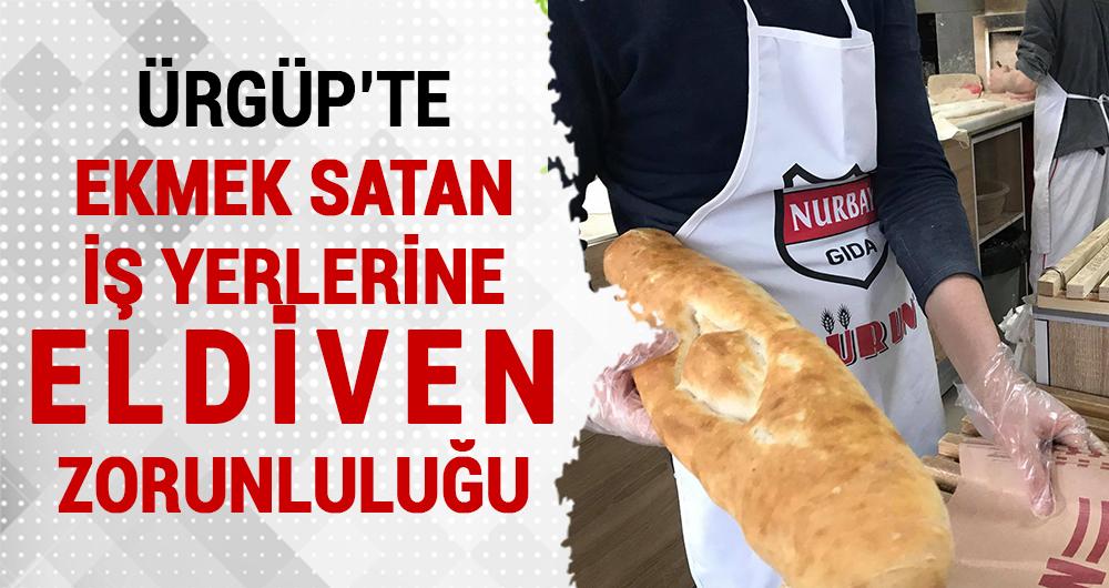 Ürgüp'te 'Ekmeğime Dokunma' kampanyası başlatıldı