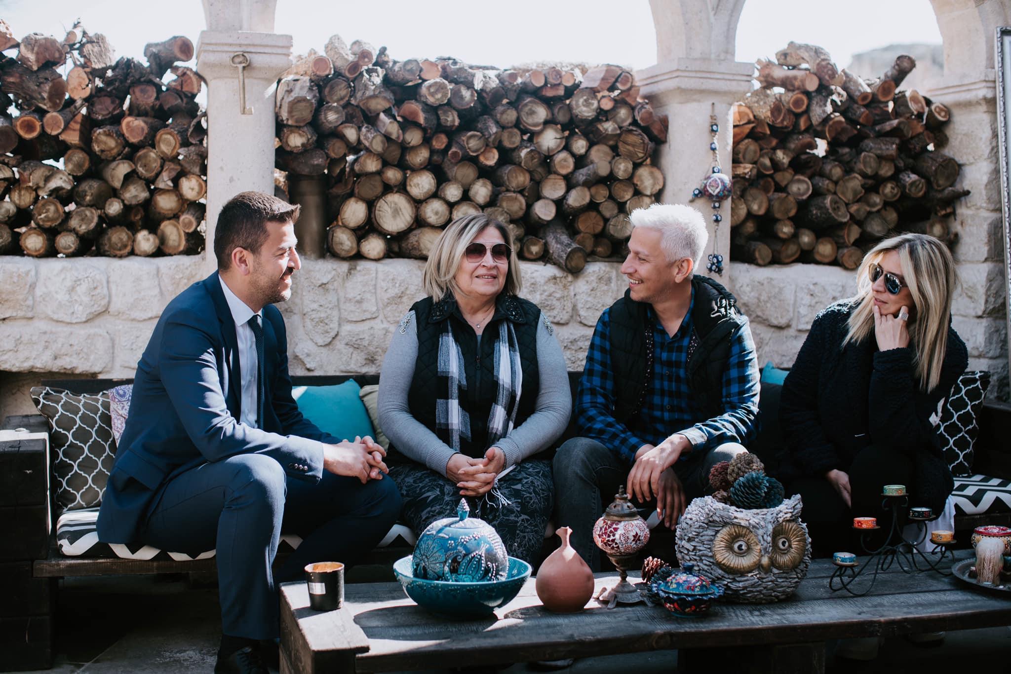 Aktürk'ten Numanoğlu Ailesine Ziyaret