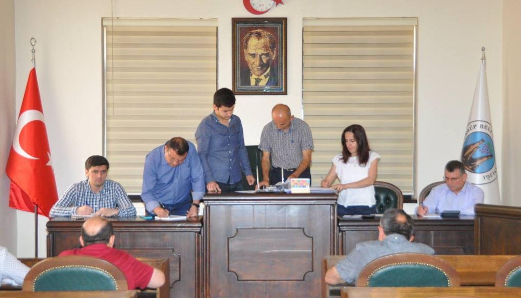 Ürgüp'te 3. Etap Sıcak Asfalt İhale Sözleşmesi İmzalandı