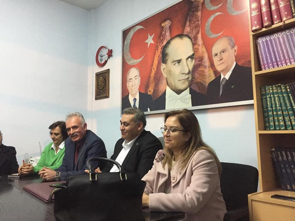 Tevfik Öz MHP Ürgüp İlçe Başkanı oldu