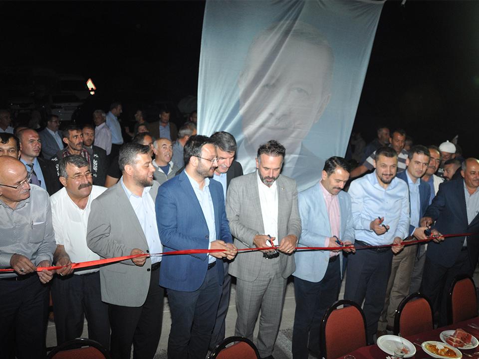 İki Köyü birbirine bağlayan Köprüde iftar düzenlendi