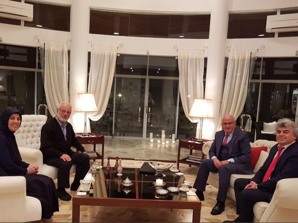 Başkan Yıldız Büyükelçi Merve Kavakçı'yı ziyaret etti