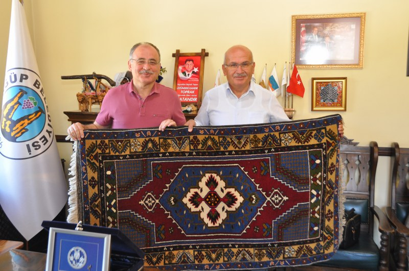 Gazi Üniversitesi Rektörü İbrahim Uslan Ürgüp'te