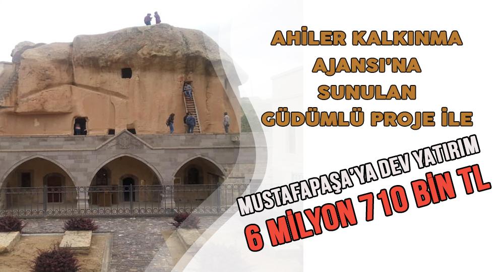 Mustafapaşa Manastır Vadisi Turizme Kazandırılıyor