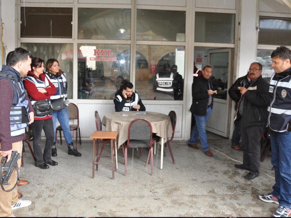 Ürgüp'te polis ekipleri şok uygulama yapıyor